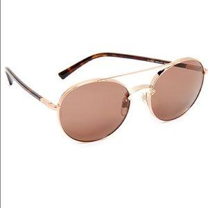 Valentino Rockloop Sunglasses Rose Gold BRAND NEW!